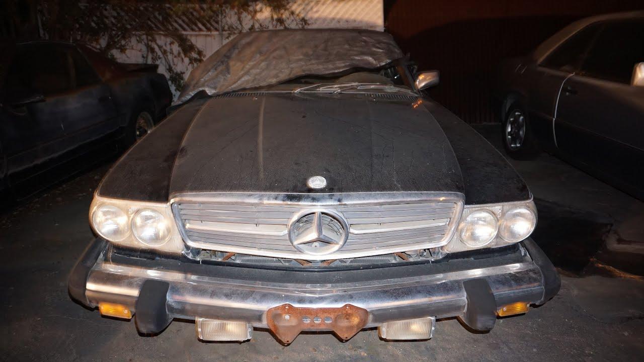 Cold Start Video Engine Coldstart Roadster Mercedes R107 450SL No~ BTS VLOG