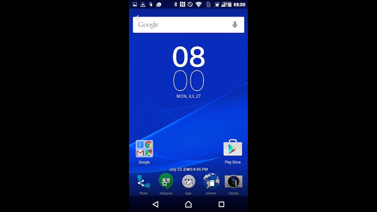 Sony Renews the User Interface in Lollipop