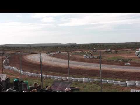 Dirt Circuit State Title Pt Augusta 7/6/15 Open Wheeler Heat 2 Round 2
