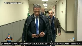 ¡MOMENTAZO! Cristóbal Soria LLEGA AL PLATÓ para DAR LA CARA tras LA 'MANITA' del Madrid al Sevilla