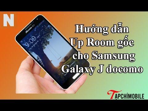 [Nology.vn] Hướng dẫn Up ROM gốc cho Samsung Galaxy J Docomo