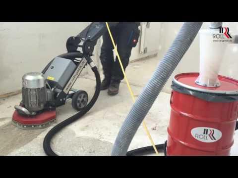 Video RO 300 Spachtelmasse und Rückstände