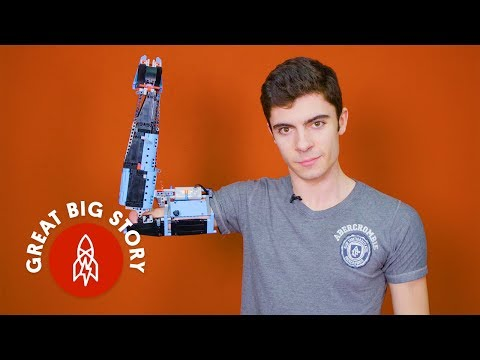 David Fisch - He Built His Own Prosthetic Arm Out of LEGOS!!!!