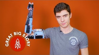 Building a Prosthetic Arm With Lego