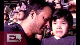 Conmovedora reacción de un niño con autismo en el concierto de Cold Play / Francisco Zea