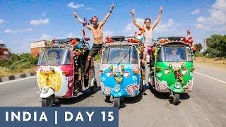 INDIAN ROAD STUNTS   DAY 15 INDIA ADVENTURE