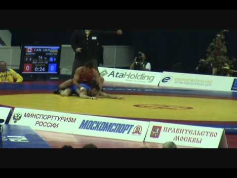 2010 WORLDS: Volodymyr Syrotin (UKR) dec. Matt Gentry (CAN), 74 kg FS