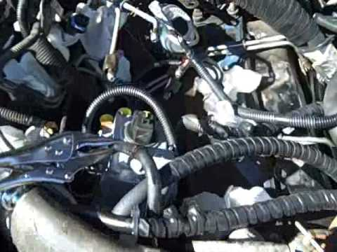 Replacing Injection Pump on 6.5TD (1995) - YouTube