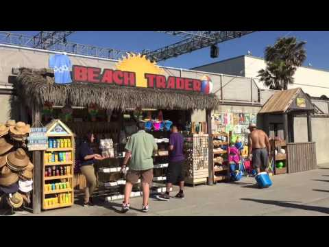 Mission Beach and Belmont Park, San Diego, California.