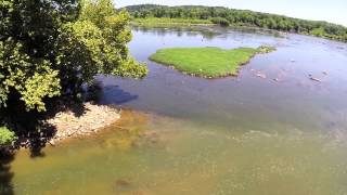 Harford County Beauty from Above: Susquehanna State Park