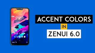 How to Change Accent Color on Zenfone 5Z - No Root Required