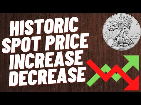 Historic Spot Price Of Precious Metals! Increases And Decreases And Will It Happen Again?