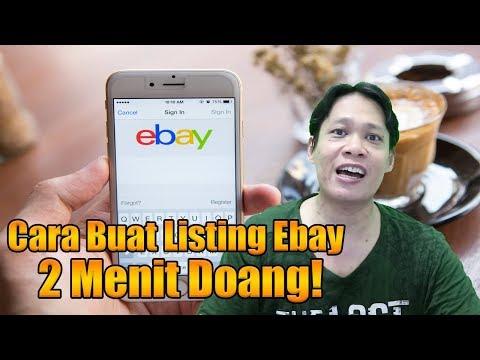 Cara Membuat Lapak atau Listingan di Ebay| How To Create Ebay Listing in 5 Minute