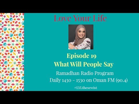 EP 19 What Will People Say | Love Your Life | The Sewist