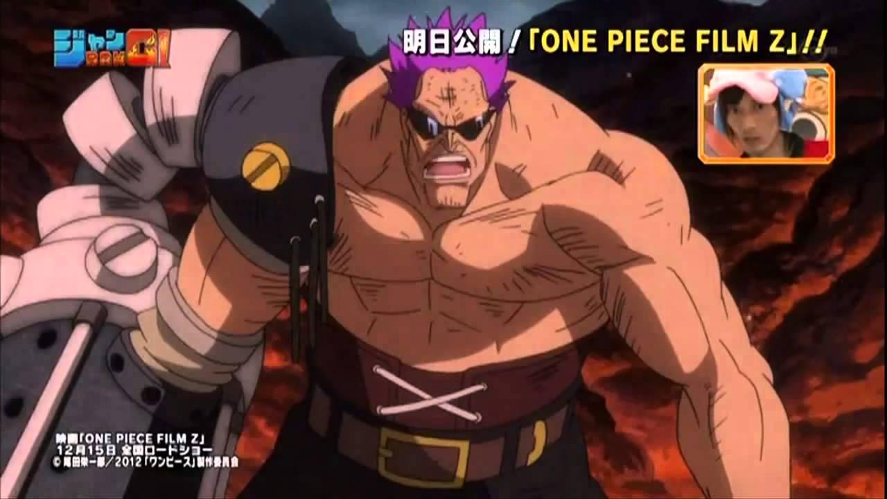 One Piece Film Z New Fighting Scenes 15 12 2012 Youtube