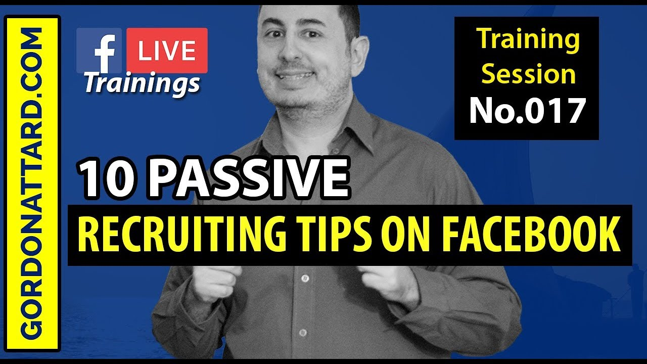 10 Passive Recruiting Tips On Facebook