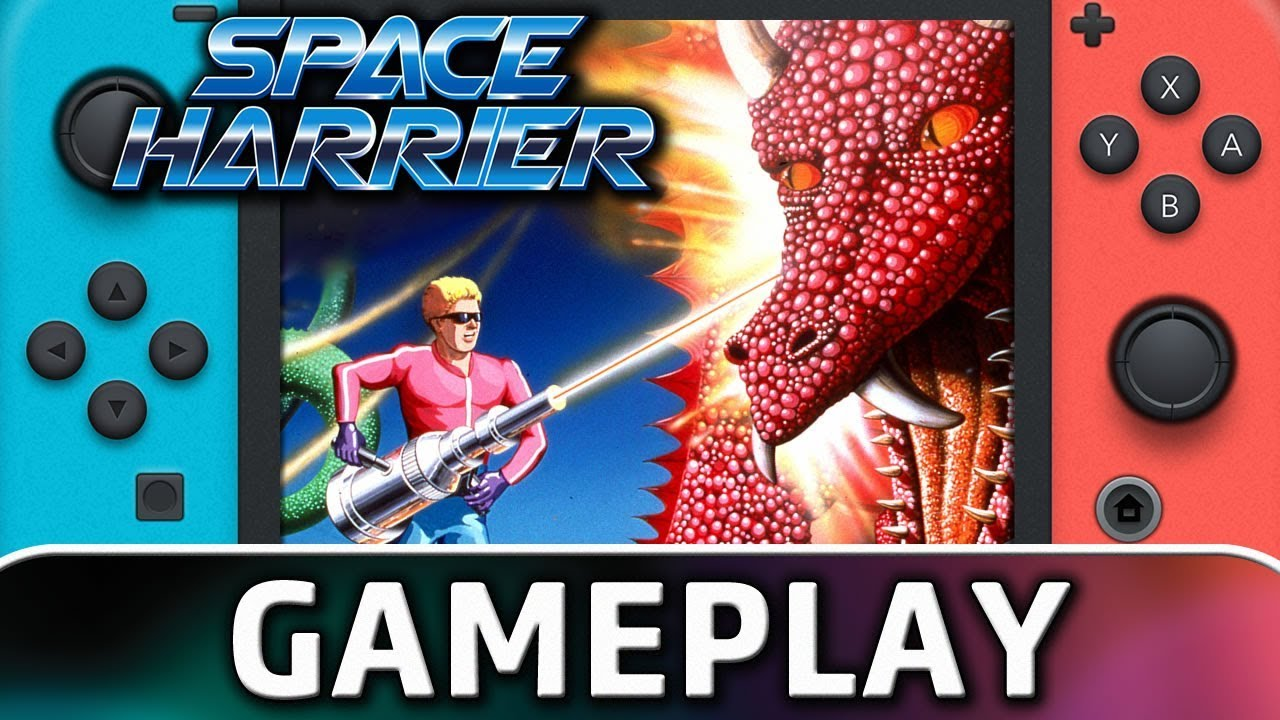 Sega Ages: Space Harrier | First 10 Minutes on Nintendo Switch