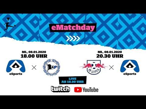 LIVE: HSV eSports I 12. & 13. Spieltag: Hamburger SV - Arminia Bielefeld I RB Leipzig - Hamburger SV