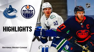 NHL Highlights | Canucks @ Oilers 1/13/21