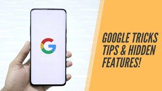 Google Tricks Tips & Hidden Features You Must Try!