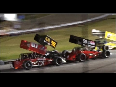 350 SUPERMODIFIEDS LEE USA SPEEDWAY FEATURE RACE 5/27/16
