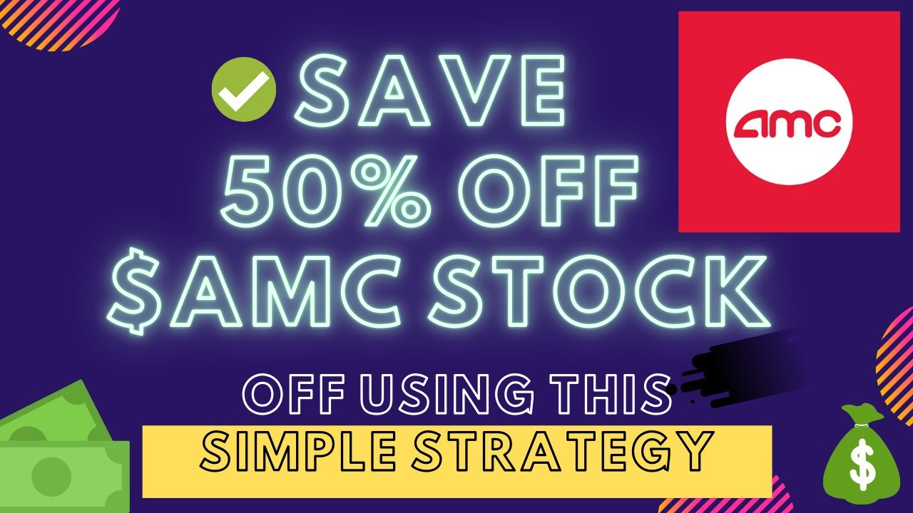 $AMC Stock, How To It Buy 50% Off 🤑 Simple Option Strategy! 🎫 Any Stock! Example in Robinhood