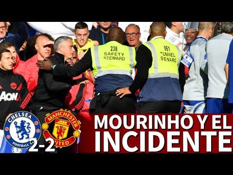 Mourinho explica su intento de agresión a un entrenador asistente del Chelsea