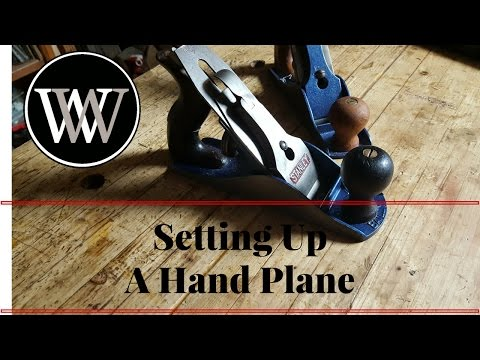 How to Setup a Hand Plane to be A Smoothing Plane - Hand Tool Tutorial