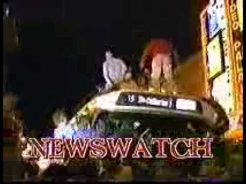 Newswatch 1986 Stanley cup parade + riot report