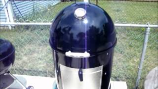 Weber Smokey Mountain Cooker - Smoking Some Barbecue Baby Back Ribs