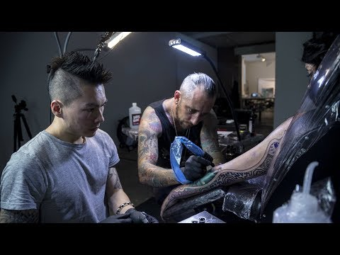 Ryan Smith & Jay Freestyle Interview - The Kaos Theory Project   Tattoo Artist Collaboration