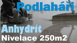 Jak vyrovnat anhydritovou podlahu sádrovou nivelační stěrkou od 1-20mm