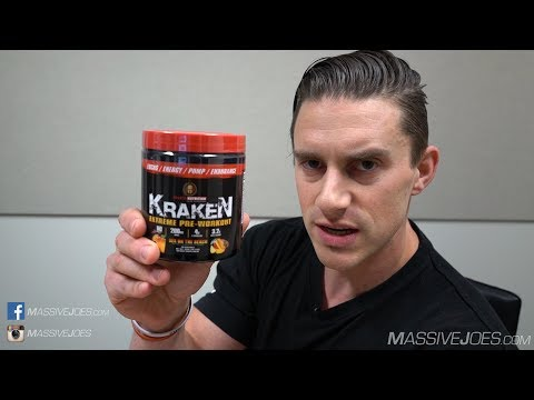 Sparta Nutrition KRAKEN Pre-Workout Supplement Review - MassiveJoes.com Raw Review