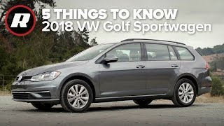 2018 Volkswagen Golf Sportwagen 4Motion: Five things to know