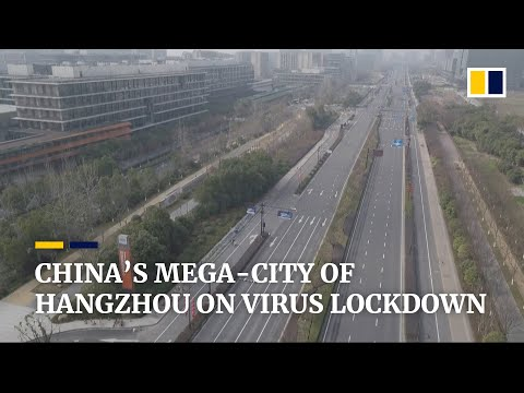 China locks down Hangzhou, mega-city far from epicentre of coronavirus outbreak
