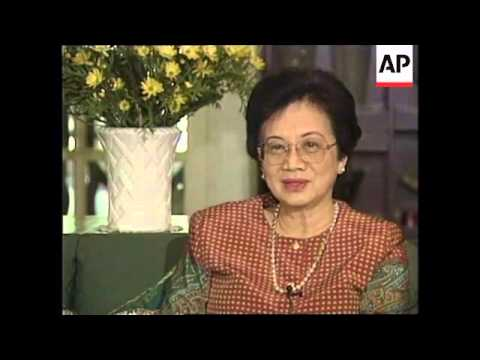 HONG KONG: IMELDA MARCOS SET TO KEEP EMBEZZLED MILLIONS