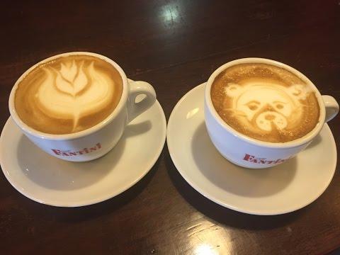Art Latte - Cómo hacer un buen café con leche - Caffe Fantini - Cal Carter