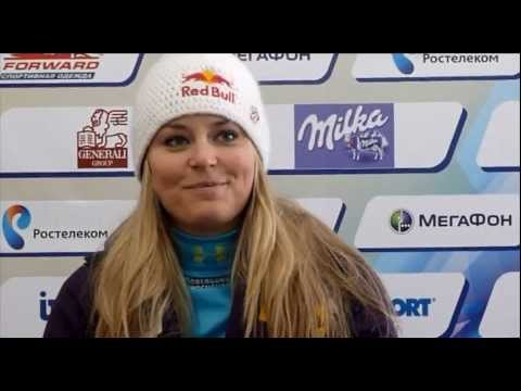 Lindsey Vonn  about volunteers  in Sochi Alpin Ski World Cup 2012