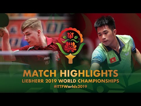 Nguyen Duc Tuan vs Patrik Juhasz | 2019 World Championships Highlights ( Group )