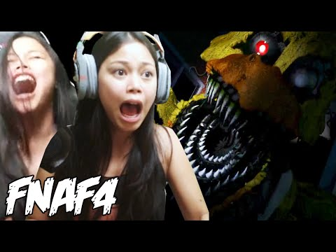 NEVER AGAIN!! - Five Nights At Freddy's 4 Live Scare Stream (FNAF 4)