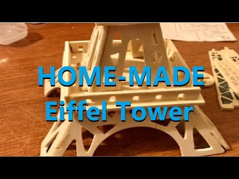 🗼HomeMade wood Eiffel Tower🗼