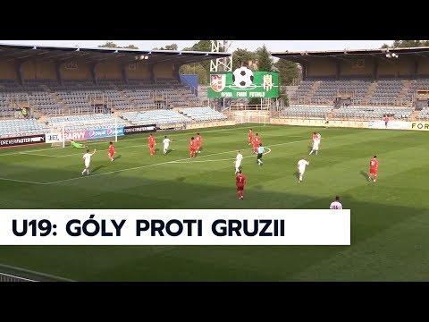 U19: Sestřih gólů ze zápasů s Gruzií