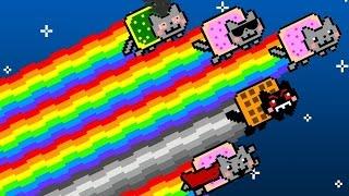 Pelataan Nyan Cat: Lost In Space   Nanananananananaa!