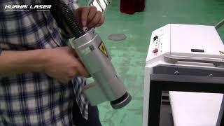 100w laser rust removal machine