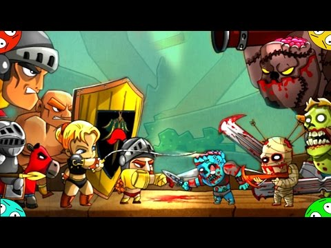 🐾 Легенда против зомби Рыцарская битва в игре Legend vs zombies. Прохождение Мультик для детей.