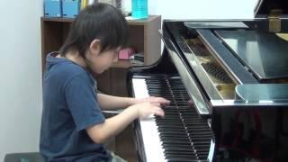 20140508 蘇翊 鋼琴 二年級組 賽前練習 哈察度量 練習曲 百分音樂學苑 台南 音樂教室
