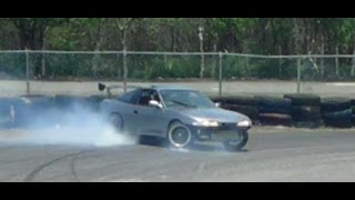 "Nissan""S13.4"" (Zenki) Spins  -Drift Day (08-06-14)"