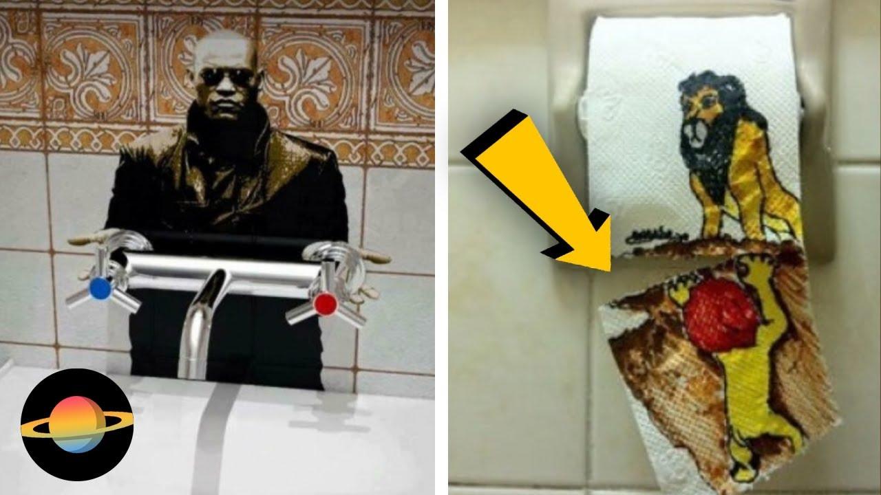 10 najśmieszniejszych aktów wandalizmu w toaletach
