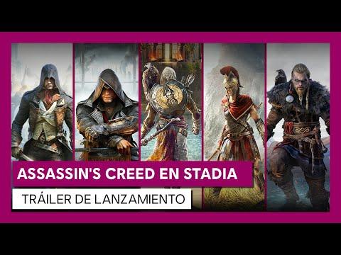 ASSASSIN'S CREED EN STADIA   TRÁILER DE LANZAMIENTO