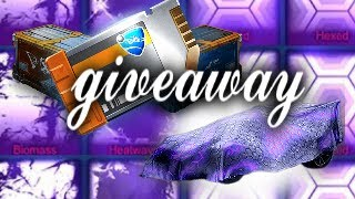 ROCKET LEAGUE GIVING AWAY MY ENTIRE INVENTORY | ROAD TO 2.5k SUBSCRIBERS